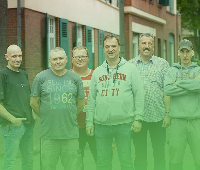 teamfoto der schulze trienenjost gbr klein