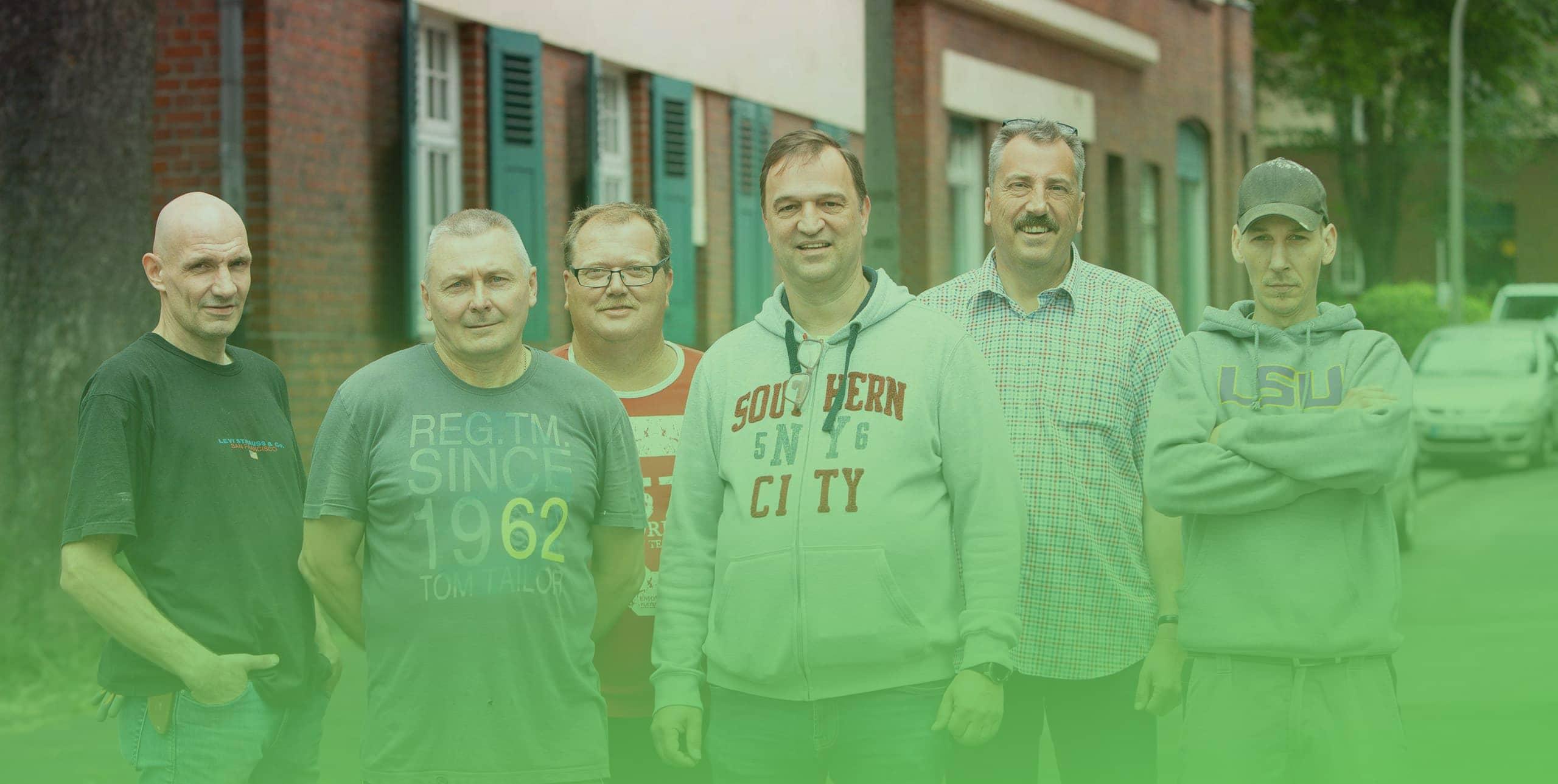 teamfoto der schulze trienenjost gbr